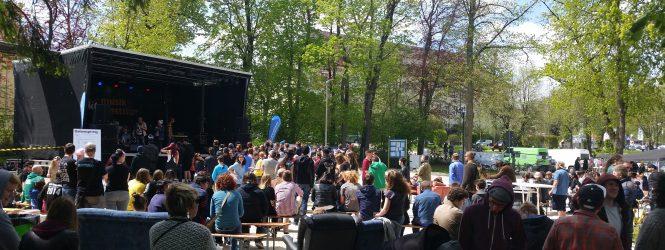 Junge Bands zum (Saiten-)Sprung auf die Festivalbühne gesucht!